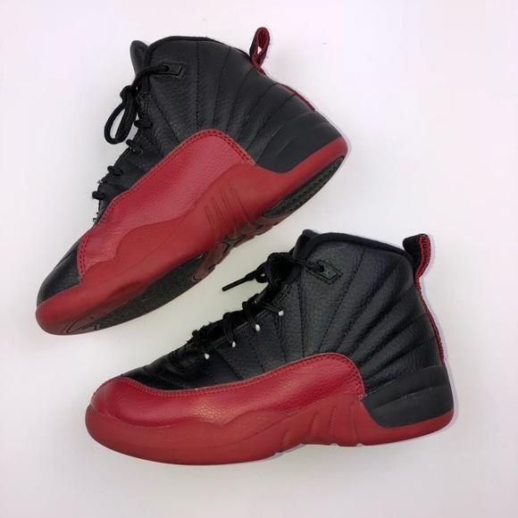Jordan's Little Boys Shoes Size 13c Black Red